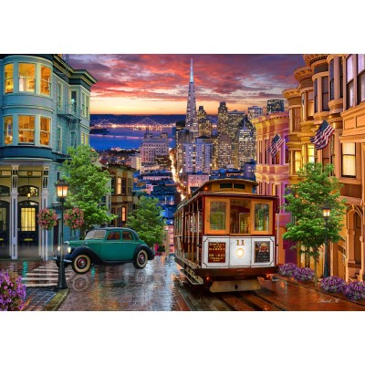 Puzzle  Bluebird-Puzzle-70293 San Francisco Trolley