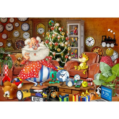 Puzzle  Bluebird-Puzzle-70295 Christmas Time!