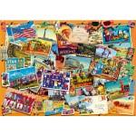Puzzle  Bluebird-Puzzle-70309-P Postcard (USA)