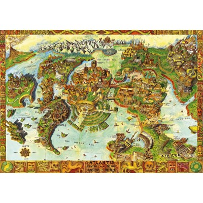 Puzzle  Bluebird-Puzzle-70317-P Atlantis Center of the Ancient World