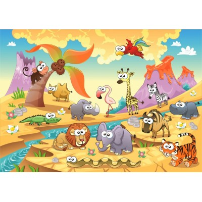 Puzzle  Bluebird-Puzzle-70364 Savannah Animals