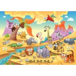 Puzzle  Bluebird-Puzzle-70364 Savannah Animals