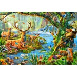 Puzzle  Bluebird-Puzzle-70385 Forest Life