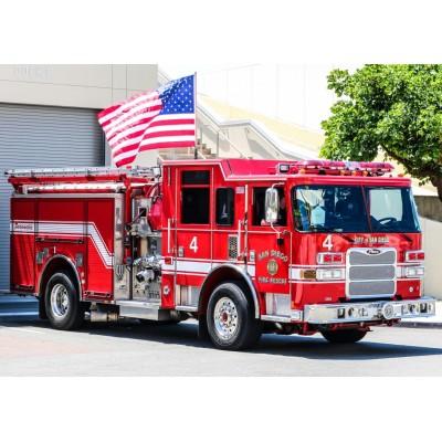 Puzzle  Bluebird-Puzzle-70402 Fire Engine