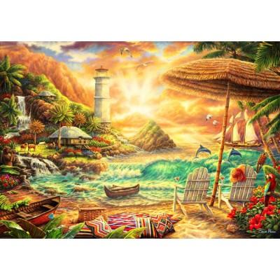 Puzzle Bluebird-Puzzle-70417 Love the Beach