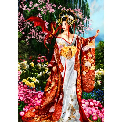 Puzzle  Bluebird-Puzzle-70425 Sekkerastoya Queen of Silk