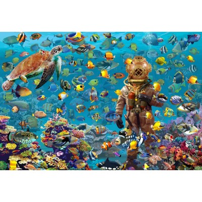 Puzzle  Bluebird-Puzzle-70447 Under the Sea