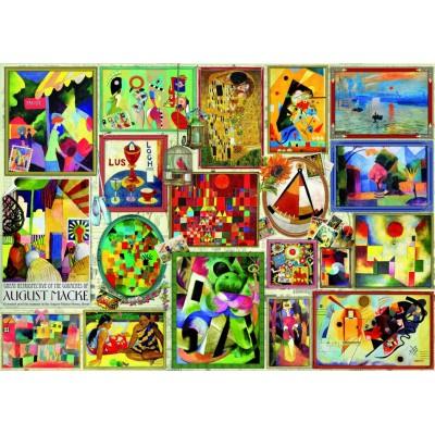 Puzzle  Bluebird-Puzzle-70475 Famous Pictures