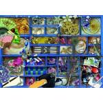 Puzzle  Bluebird-Puzzle-70481 Blue Collection