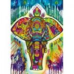 Puzzle  Bluebird-Puzzle-70497-P Elefant