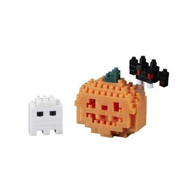 Brixies-38449024 3D Nano Puzzle - Postkarte Halloween