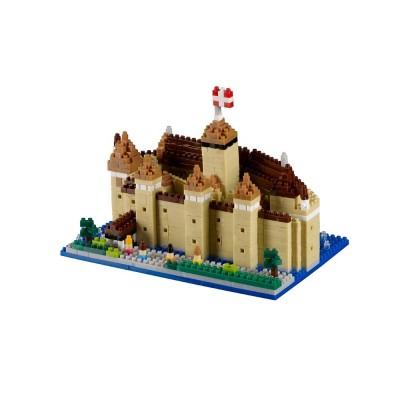 Brixies-38449056 3D Nano Puzzle - Schloss Chillon