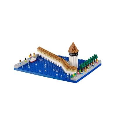 Brixies-38449060 3D Nano Puzzle - Kapellbrücke
