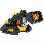 Brixies-38449139 3D Nano Puzzle - JCB Kompaktlader