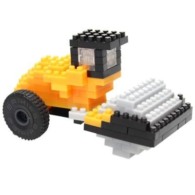 Brixies-38449141 3D Nano Puzzle - JCB Verdichter