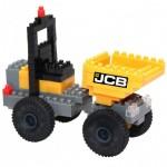 Brixies-38449142 3D Nano Puzzle - JCB Baustellenkipper