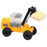 Brixies-38449143 3D Nano Puzzle - JCB Radlader