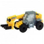 Brixies-38449144 3D Nano Puzzle - JCB Teleskoplader