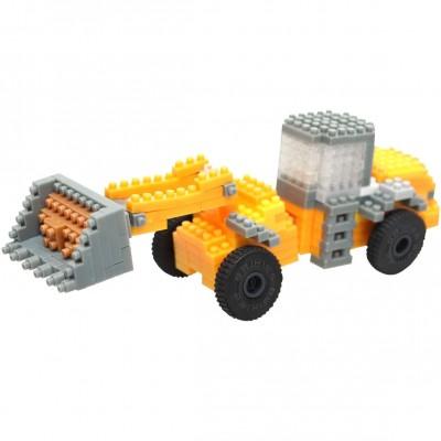 Brixies-38449147 3D Nano Puzzle - JCB Radladerschaufel