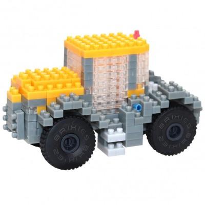 Brixies-38449148 3D Nano Puzzle - JCB Traktor