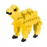 Brixies-57924 3D Nano Puzzle - Kamel