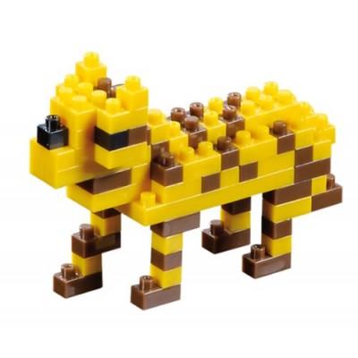 Brixies-57925 3D Nano Puzzle - Leopard
