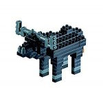 Brixies-57926 3D Nano Puzzle - Büffel