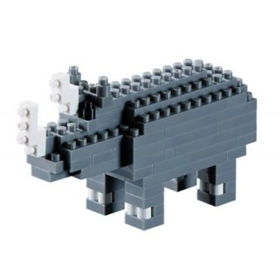 Brixies-57927 3D Nano Puzzle - Nashorn