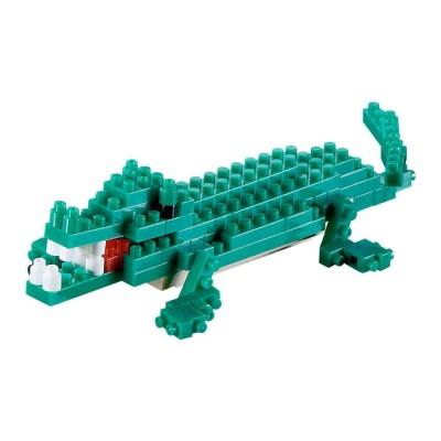 Brixies-58113 3D Nano Puzzle - Krokodil