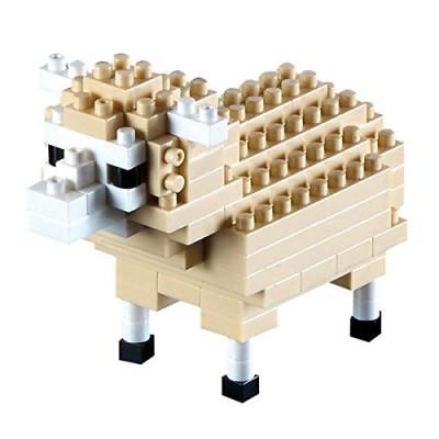 Brixies-58114 3D Nano Puzzle - Schaf