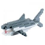 Brixies-58241 3D Nano Puzzle - Hai