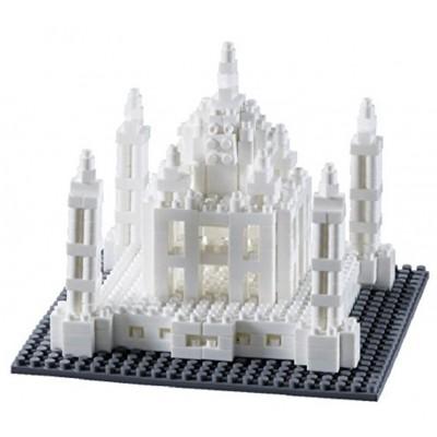 Brixies-58248 Nano 3D Puzzle - Taj Mahal (Level 3)