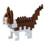 Brixies-58429 3D Nano Puzzle - Katze