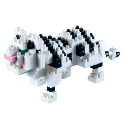 Brixies-58431 3D Nano Puzzle - Tiger
