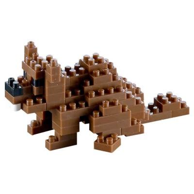 Brixies-58432 3D Nano Puzzle - Biber