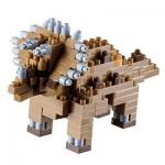 Brixies-58438 3D Nano Puzzle - Dinosaurier
