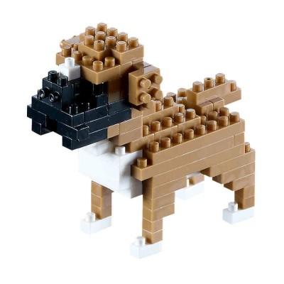 Brixies-58457 3D Nano Puzzle - Boxer