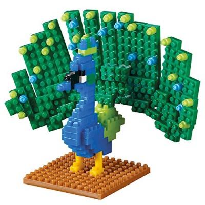 Brixies-58658 3D Nano Puzzle - Pfau