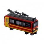 Brixies-58719 Nano 3D Puzzle - Jungfraujochbahn (Level 3)