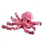 Brixies-58726 3D Nano Puzzle - Kleiner Oktopus