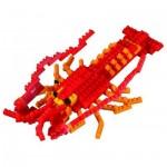 Brixies-58757 3D Nano Puzzle - Hummer