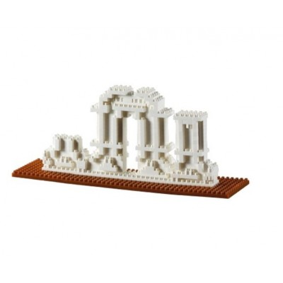 Brixies-58783 Nano 3D Puzzle - Yuang Ming Yuan (Level 3)