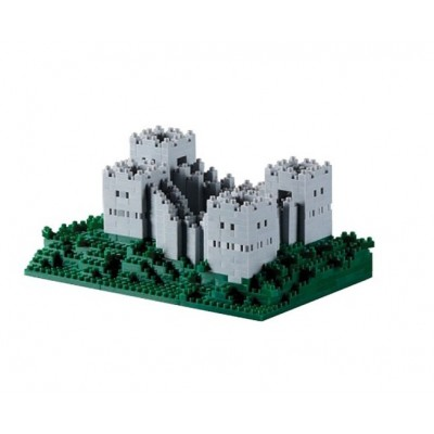 Brixies-58786 Nano 3D Puzzle - Great Wall (Level 4)
