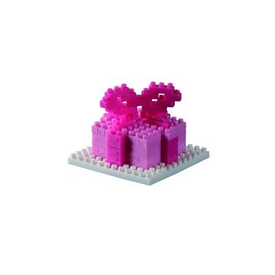 Brixies-58816 3D Nano Puzzle - Postkarte Geschenk