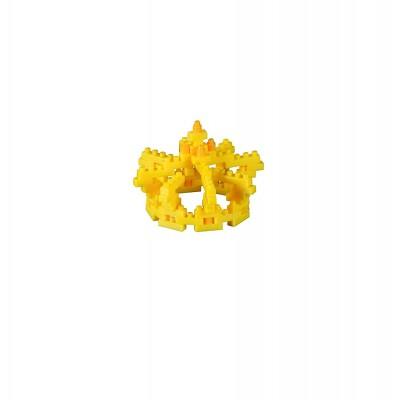 Brixies-58818 3D Nano Puzzle - Postkarte Krone
