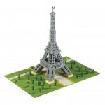 Brixies-58830 3D Nano Puzzle - Eiffelturm