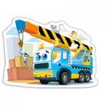Puzzle  Castorland-015108 Lustiger Laster