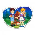 Puzzle  Castorland-015177 Hansel und Gretel