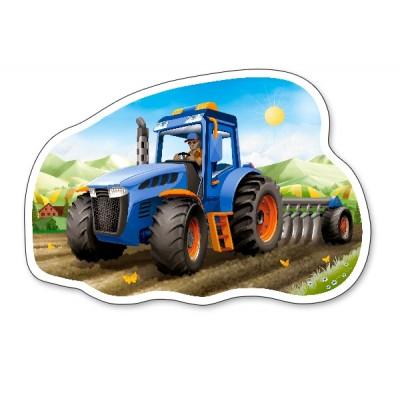 Puzzle  Castorland-015184 Traktor