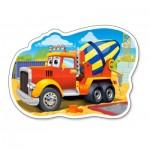 Puzzle  Castorland-015191 LKW Toupie